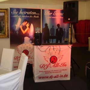 DJ All In - Lounge / Swing Reception
