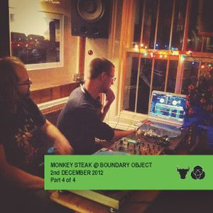 Monkey Steak Live at Boundary Object. 2nd Dec 2012. Part 4 of 4