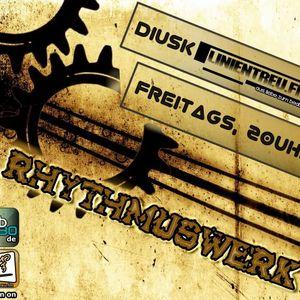 RhythmusWerk 22.06.12 The Weekenopener @ Linientreu.fm