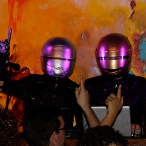 Cocaine Mortgage as Daft Punk - Live Intro - Halloween Homecoming Show 2012