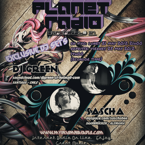 Dj Green - Progressive Planet Radio Broadcast #021 May 2012