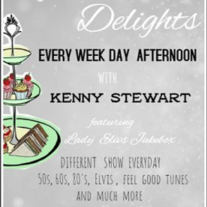 80's Afternoon Delights With Kenny Stewart - January 25 2021 www.fantasyradio.stream