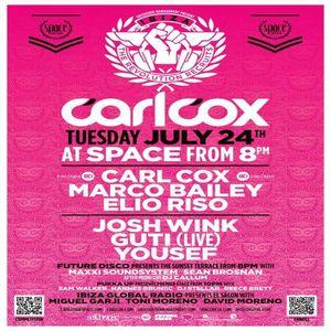 Marco Bailey @ Space Ibiza 24-07-2012