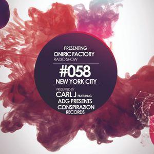 Oniric Factory Radio Show #058
