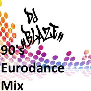 Dj Blaze's  90's Eurodance Party (Radio Session) (2013)