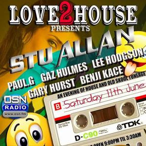Paul G, Love2House @ Retro Bar, Bury 11-06-2016