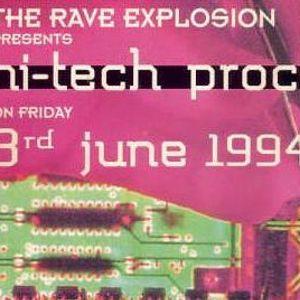 """Deg at """"Hi-Tech Procedures"""" at Cherry Moon (Lokeren - Belgium) - 3 June 1994"""