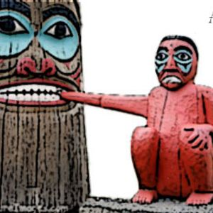 Animals From The Bottom Of The Totem Pole