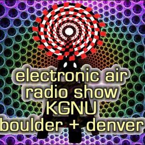 Electronic Air on KGNU-FM with E23, Set 2, Saturday December 3, 2016