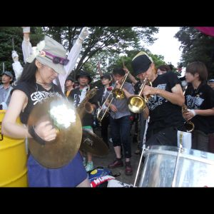 The siege of the diet building for anti-nuclear, Tokyo July 29, 2012, short.
