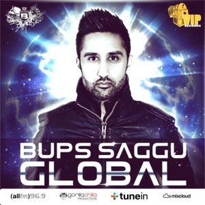 Bups Saggu live @ All Fm with Gorilla Chilla every Wednesday 1- 2 pm 28/8/13