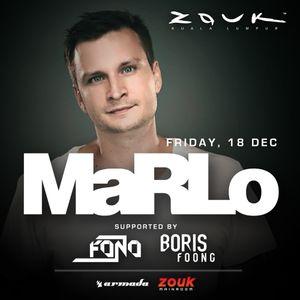 Boris Foong - Warm-Up Live Set - MaRLo @ Zouk KL