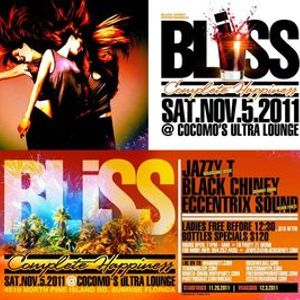 Black Chiney BLISS NOV2011 PROMO CD