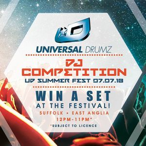 Universal Drumz DJ Competition - mixed by AnnGree