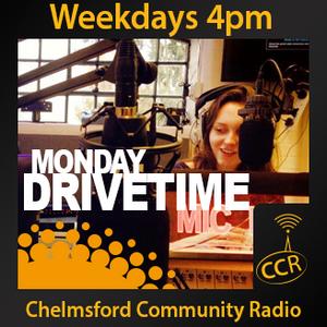 Monday Drivetime - @CCRDrivetime - Emily Graves - 23/02/15 - Chelmsford Community Radio