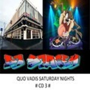 DJ SPACEY SATURDAY NIGHT OLDSKOOL DANCE & ELECTRO/HOUSE MIX (CD 3) [QUO VADIS GLASGOW