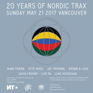 Nordic Trax Radio #108 - Pete Moss - Live at NTX20 Vancouver