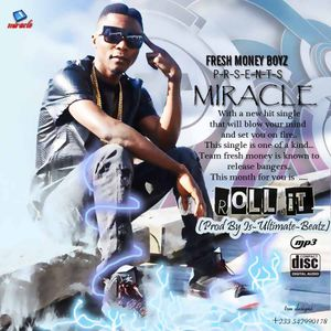 Miracle New seirra Leone R&B and Afro Artist get use to his music prez play