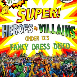 DJ Boo - Superheroes & Villains Disco 2018