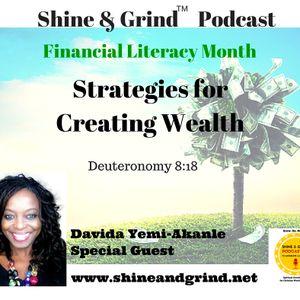 Creating Wealth: 7-Pillars of Wealth Creation with Guest Davida Yemi-Akanle