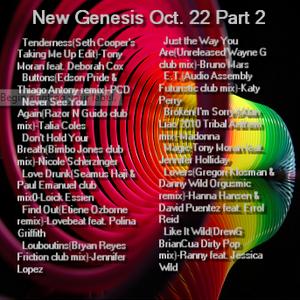 New Genesis Oct. 22 Part 2