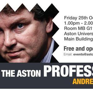 Meet The Professor 2013 - Andrew Ellis