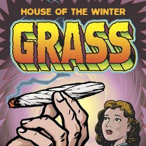 House of the winter grass