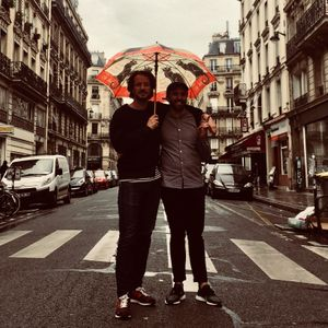 Le Mellotron: Anders with Malcolm (Global Warming Records) // 14-06-18