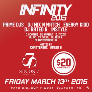 #iNFINITY2015 - Official CD