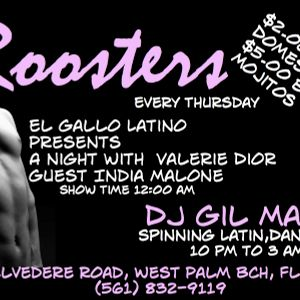 Thursday Nite @ Rooster Mix with DJ Gil Martin