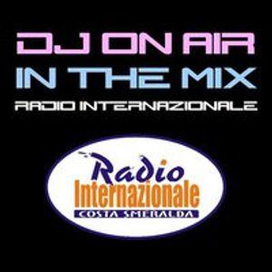Federico Palma DJ Live DJ Set @ DJ On Air In The Mix - Radio Internazionale (Sabato 4 Giugno 2011)