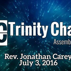 07.10.16 — Rev. Jonathan Carey