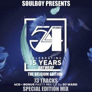 studio54 celebrating 15years antwerp belgium special edition