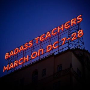 BATs Descend on DC for 7-28 DOE Rally on Education Town Hall with Thomas Byrd  July 24