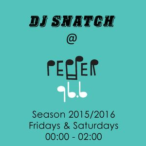 DJ SNATCH @PEPPER 96.6 (09.01.2016)