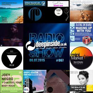 DEEPINSIDE RADIO SHOW 067 (Terry Hunter Artist of the week)