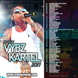 VA-Dj WhaGwaan - The Best Of Vybz Kartel 2011 (Promo Cd) 2012