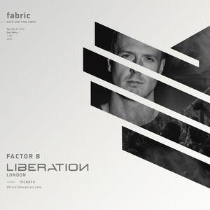 Factor B - Live @ Liberation, Fabric, London 2019