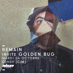 Remain invite Golden Bug - 04 Octobre 2016