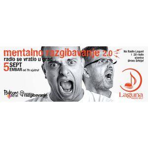 Radio Laguna: Mentalno razgibavanje 2.0, 08. 11. 2016.