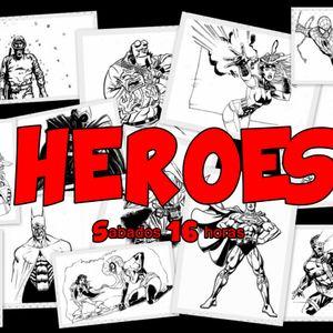 Héroes 29 - 11 - 14 en Radio LaBici