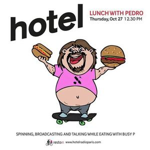Lunch With Pedro  - 27:10:2016