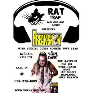 RAT TRAP with Sinn Bodhi (WWE's Kizarny)