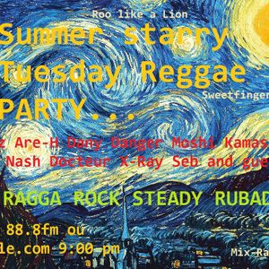 # Last starry night with the Reggae Team - Radio Grenouille - La der des der...