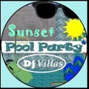 Pool Sunset Party
