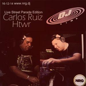 Dj Time 13 - 12 - 2014 By @capoferraro @djgabylopez Carlos Ruiz & Ema Hitower