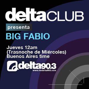 Delta Club presenta Big Fabio (8/3/2012)