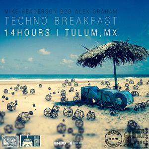 Alex Graham & ENDO - Techno Breakfast (Live in Tulum) - 14 Hour Set [Part 2]