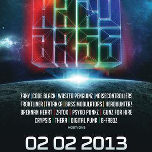 Phazox pres. Hardbass 2013 Aftermix: Headhunterz LIVE (Team Yellow)