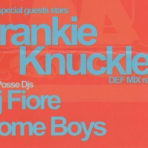 Frankie Knuckles d.j. Disco Metropolis (Na) Angels of Love 01 09 2001